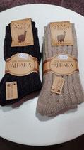 100% Wollsocken 65% Schafwolle, 35% Alpakawolle