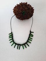 Halskette ''Prainha'' in Grün