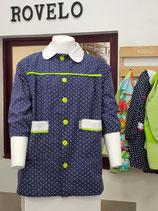 00060022 Babi colegio ANCLAS con vivo verde pistacho.