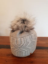 Warme Wintermütze mit Kunstfell Zenit