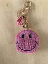 Smiley Taschenanhänger