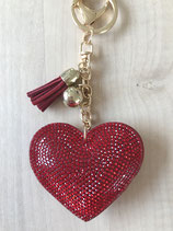 Taschenanhänger Herz