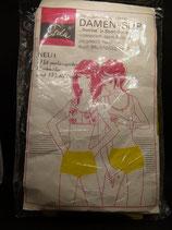 DDR Frottina Damen Slip in Short Form OVP mit Motivdruck Sternzeichen Stier -seltenes Stück aus Lagerbestand