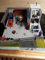 LKW Werkstatt mit Büro