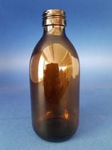 250ml Sirupflasche aus Braunglas PP28