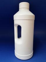 2000ml Rund-/Griffflasche weiss inkl. Schraubverschluss