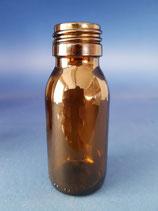 60ml Sirupflasche aus Braunglas PP28