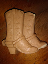 Goat's Milk & Honey Soap with * Red Clay * - Cowboy Boot