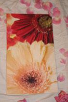 """Billet """"Rote Blume gelbe Blume"""" gross"""