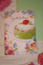 """Billet """"Gratulation"""" klein"""