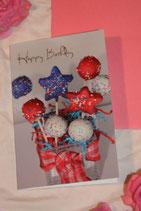 """Billet """"Happy Birthday"""" klein"""