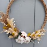 """Flower-Hoop """"Cottonfields"""""""