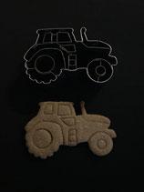 Präge-Ausstechform Traktor