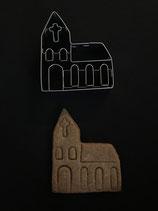 Präge-Ausstechform Kirche 2