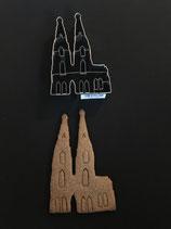 Präge-Ausstechform Kölner Dom