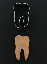Ausstechform Zahn 1