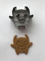 Präge-Ausstechform Monster 2