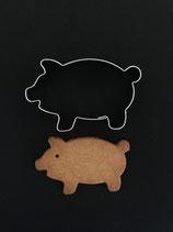 Ausstechform Glücksschwein