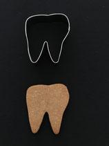 Ausstechform Zahn 2