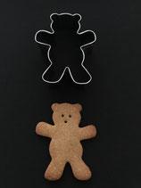 Ausstechform Teddy stehend