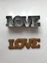 Präge-Ausstechform Love