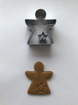 Präge-Ausstechform Engel geometrisch