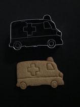 Präge-Ausstechform Krankenwagen
