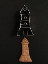 Präge-Ausstechform Leuchtturm 1