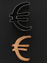 Ausstechform  €-Zeichen