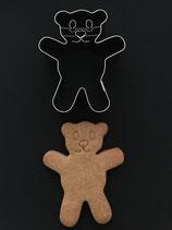 Präge-Ausstechform Teddy 3