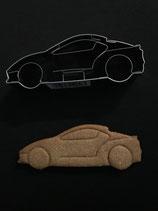 Präge-Ausstechform Rennwagen / Sportwagen
