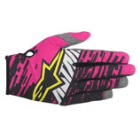 Alpinestars Racer Braap Gloves Pink Black