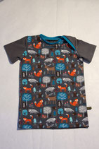 T-Shirt Waldtiere grau