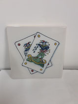 Carreau Faience Jocker !!!! Dimensions 13cm×13cm référence A