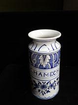 Pot à Pharmacie C.HAMECH Hauteur 20 cm Diamètre 9 cm Faience de Delft