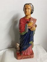 Saint Jean Hauteur 41 cm Faience de Desvres