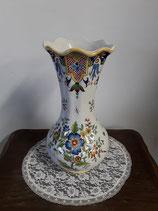 Vase Faience de Desvres Hauteur 27 cm diamètre 12 cm