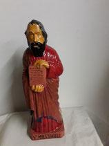 Saint Matthieu Hauteur 41 cm Faience de Desvres