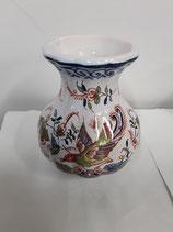 Vase Faience de Desvres Hauteur 11cm diamètre 6,5 cm