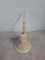 Pipe sur socle Faience de Desvres Diamètre du Socle 10 cm réf 2