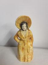 Boulonnaise Faience de Desvres Hauteur 23 cm diamètre 8,5 cm
