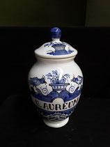 Pot à Pharmacie U.AUREUM Hauteur 27 cm Diamètre 9 cm Faience de Delft