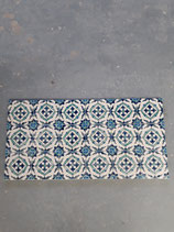 Lot de 18 carreaux Faience dimensions 10cm×10cm  stock 130 carreaux  référence AB23