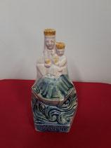 Notre Dame de Boulogne Faience de Desvres Hauteur 17,5 cm