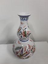 Vase Faience de Desvres Hauteur 19 cm diamètre 4 cm