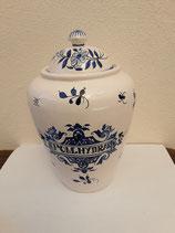 Pot à Pharmacie Faience de Desvres Pom.Hydrar Hauteur 24 cm Diamètre 10 cm