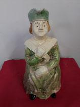 Pichet Grand Mère Faience de Desvres Hauteur 30 cm