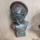 Statue Enfant Faience De Desvres Hauteur 20 cm
