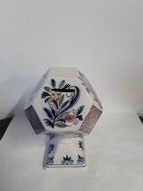Tirelire À Casser ! Faience de Delft Hauteur 18 cm Diamètre 9,5cm