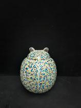 Grande Coccinelle Art Déco  Faience de Desvres Hauteur 24 cm Largeur 20 cm s accroche Facilement ou se  pose !